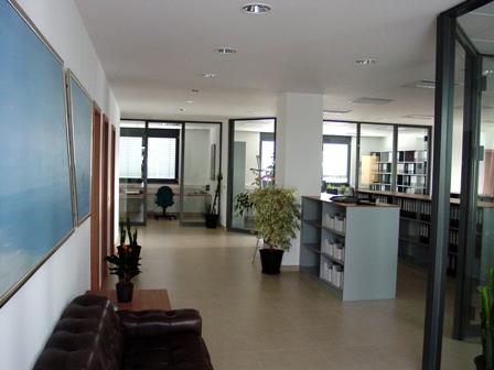 Eingangsansicht des neuen Büros in der Göttinger Str. 25 in Kassel